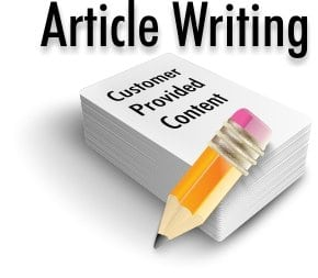 Top but cheap article writing service