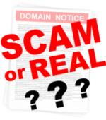 How do I know if a Domain Renewal Notice is Real or Fake?