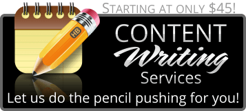 Modern Web Studios - Content Writing Services for small businesses that need help writing blogs to help in search engine optimization