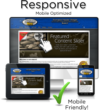 Responsive Web Design will allow ALL visitors to experience every page of your website in a format that matches your website
