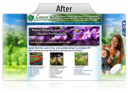 Landscaper Website Design Services for Small Businesses in Lexington KY
