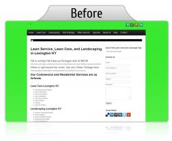 Landscaper Website Design Services for Small Businesses in Lexington KY